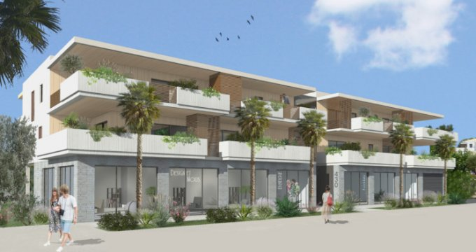 Achat / Vente programme immobilier neuf Baillargues proche gare (34670) - Réf. 5173