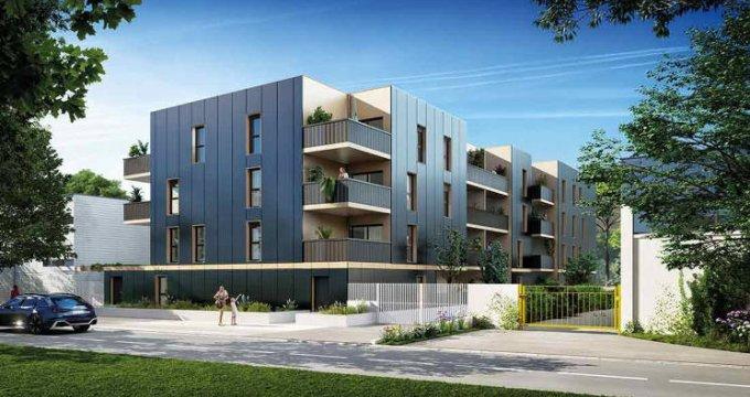 Achat / Vente programme immobilier neuf Lattes au coeur du quartier de Boirargues (34970) - Réf. 6023