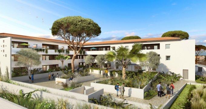 Achat / Vente programme immobilier neuf Lunel proche centre-ville (34400) - Réf. 6113