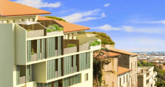 Achat / Vente programme immobilier neuf Sète quartier Le Mont Saint Clair (34200) - Réf. 4562