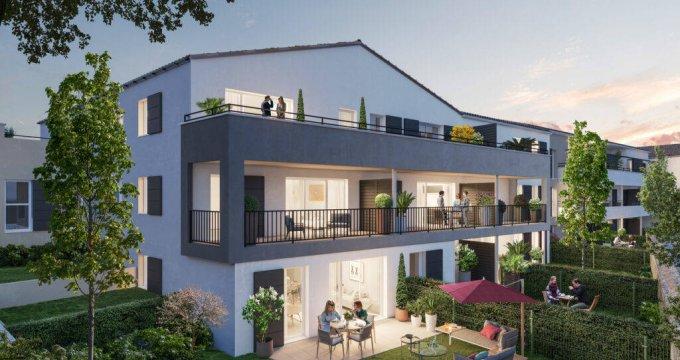 Achat / Vente programme immobilier neuf Vendargues centre proche écoles (34740) - Réf. 6319