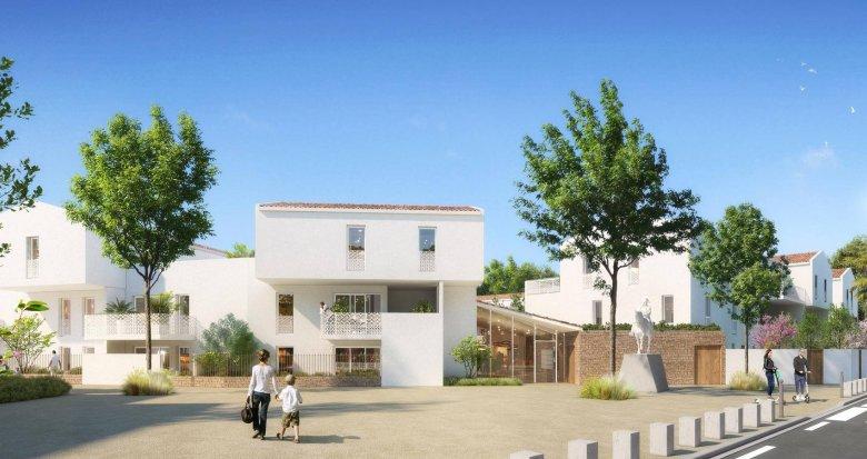 Achat / Vente programme immobilier neuf Baillargues au cœur du quartier Domaine Napoleon (34670) - Réf. 6208