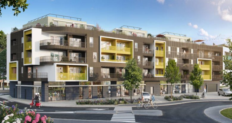 Achat / Vente programme immobilier neuf Castelnau-le-Lez à deux pas du T2 Centurions (34170) - Réf. 5948