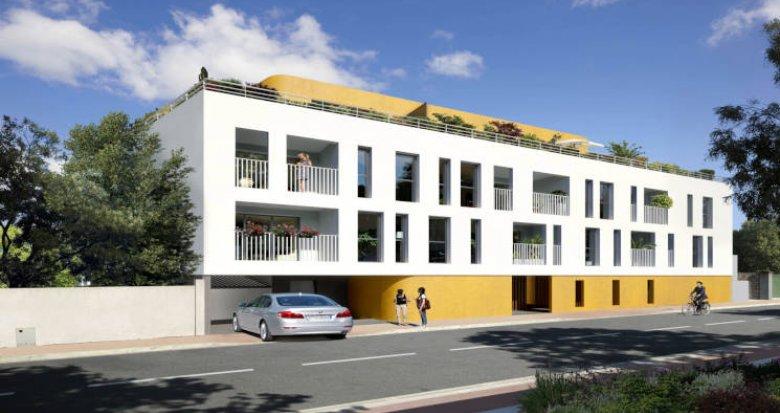 Achat / Vente programme immobilier neuf Castelnau-le-Lez au coeur de ville (34170) - Réf. 5755