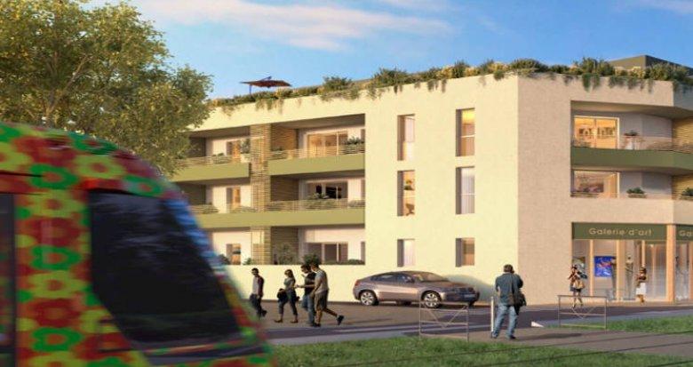 Achat / Vente programme immobilier neuf Castelnau-le-Lez en face du tramway (34170) - Réf. 4762