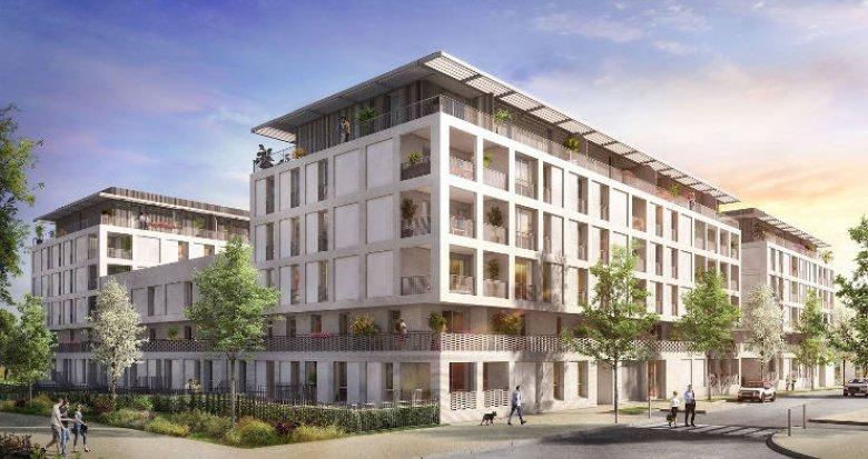 Achat / Vente programme immobilier neuf Castelnau-le-Lez entre le domaine Verchant et le Millénaire (34170) - Réf. 2278