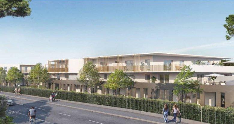 Achat / Vente programme immobilier neuf Castelnau-le-Lez proche Grand Parc (34170) - Réf. 3832