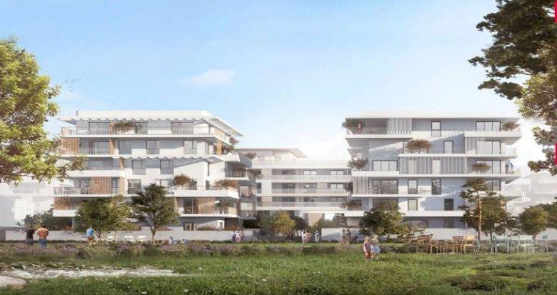 Achat / Vente programme immobilier neuf Castelnau-le-Lez proche secteur du Domaine de Verchant (34170) - Réf. 3755
