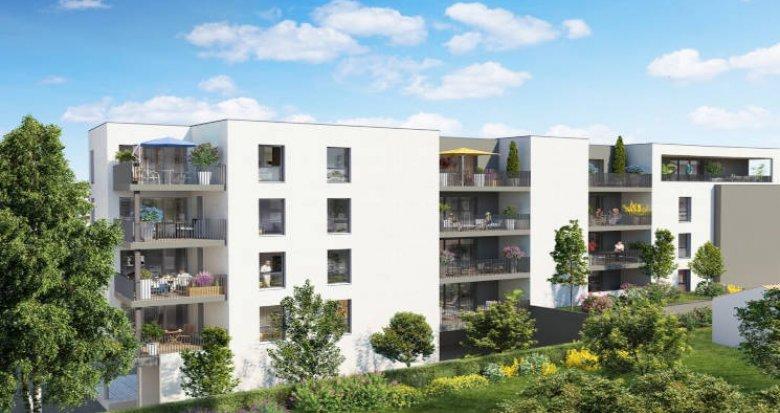 Achat / Vente programme immobilier neuf Castelnau-le-Lez proche tram Charles de Gaulle (34170) - Réf. 5944
