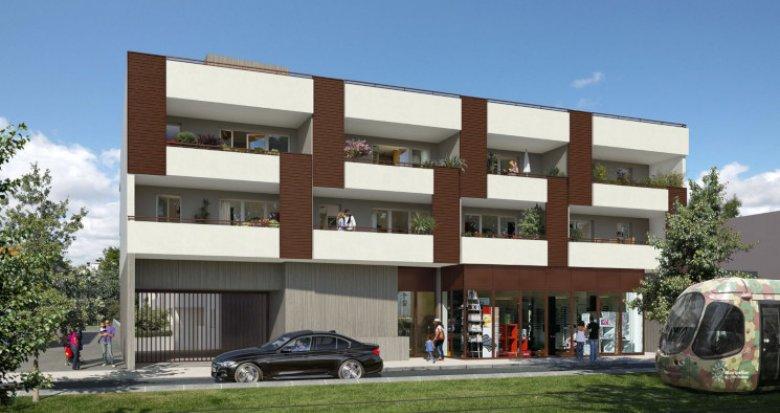 Achat / Vente programme immobilier neuf Castelnau-le-Lez proche tramway (34170) - Réf. 3859