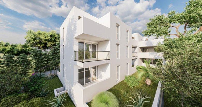 Achat / Vente programme immobilier neuf Castelnau-le-Lez secteur Pompignagne à 5 min du Tram (34170) - Réf. 5614