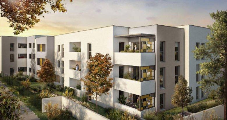 Achat / Vente programme immobilier neuf Castelnau-le-Lez secteur Pompignane intimiste (34170) - Réf. 5857