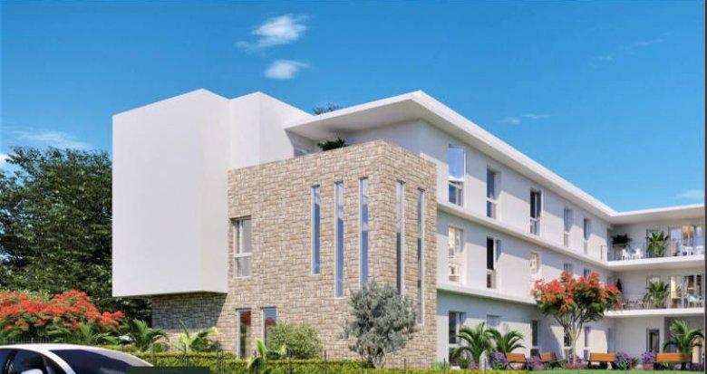 Achat / Vente programme immobilier neuf Fabrègues – résidence sénior au cœur d'une belle nature (34690) - Réf. 5191