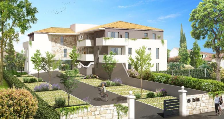 Achat / Vente programme immobilier neuf Frontignan Proche Montpellier et Sète (34110) - Réf. 5027