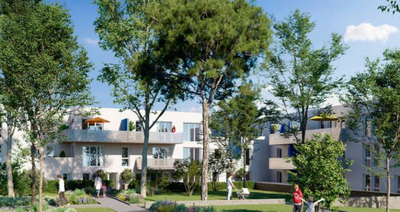 Achat / Vente programme immobilier neuf Gigean proche centre village (34770) - Réf. 5538