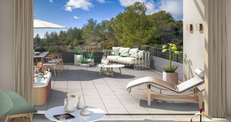 Achat / Vente programme immobilier neuf Grabels proche quartier Euromédecine (34790) - Réf. 3091