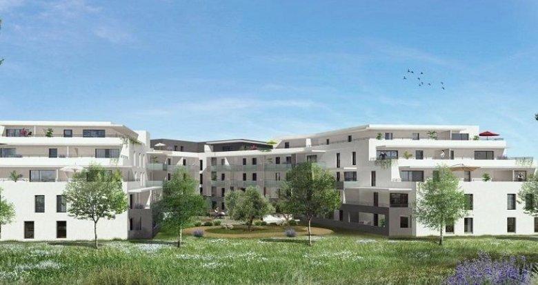 Achat / Vente programme immobilier neuf Juvignac aux portes de Montpellier dans un quartier résidentiel (34990) - Réf. 1486