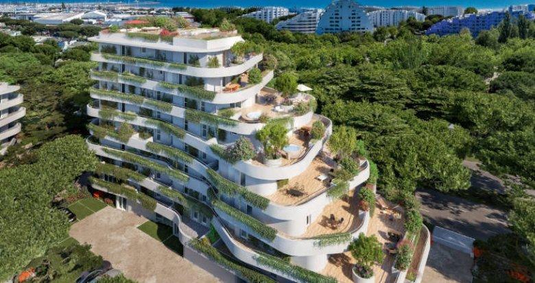 Achat / Vente programme immobilier neuf La Grande-Motte proche de la plage du Couchant (34280) - Réf. 5949