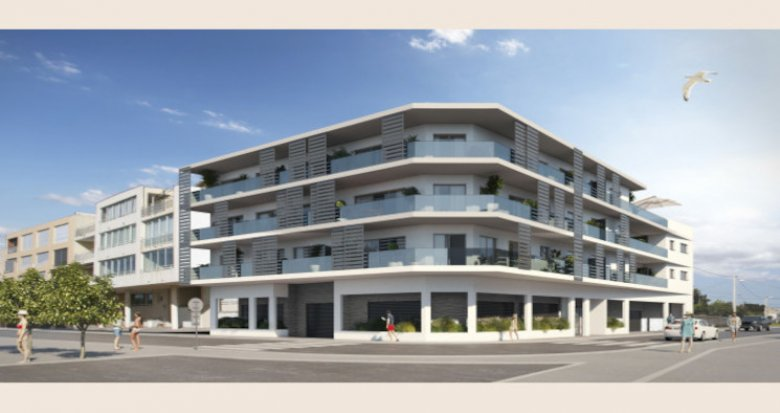 Achat / Vente programme immobilier neuf Le Grau d'Agde vue mer proche commerces (34000) - Réf. 5070