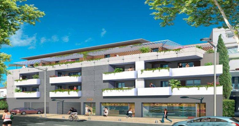 Achat / Vente programme immobilier neuf Lunel cœur centre (34400) - Réf. 3477