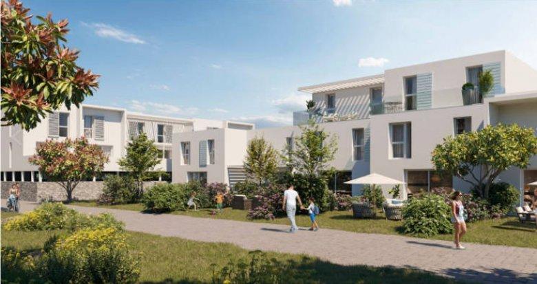 Achat / Vente programme immobilier neuf Marsillargues à 15 min des plages (34590) - Réf. 5162