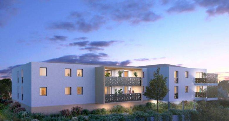 Achat / Vente programme immobilier neuf Mauguio à 5 min du centre (34130) - Réf. 5123