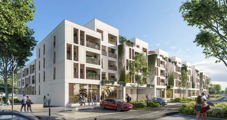 Achat / Vente programme immobilier neuf MAUGUIO zac de la font (34130) - Réf. 6263