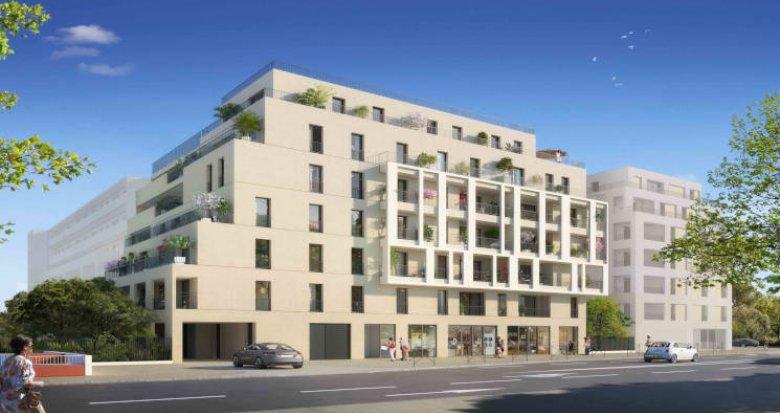 Achat / Vente programme immobilier neuf Montpellier à 800m du Parc Montcalm (34000) - Réf. 5616