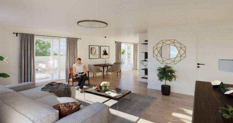 Achat / Vente programme immobilier neuf Montpellier au cœur du Mas de Bagnère (34000) - Réf. 4996