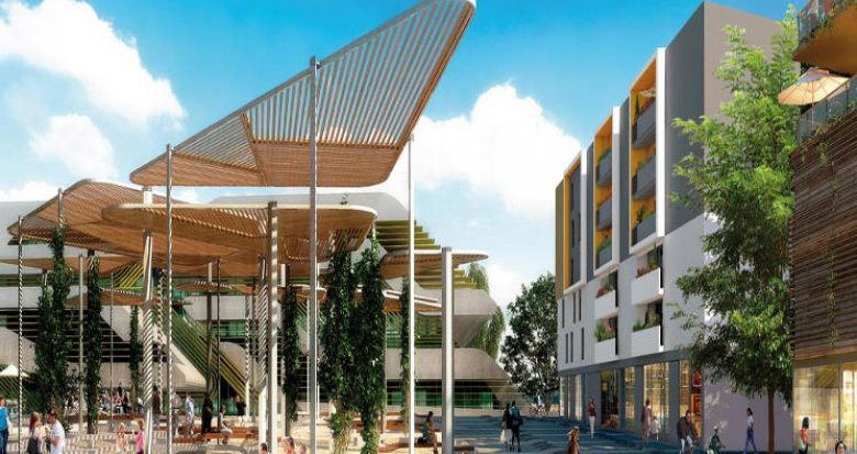 Achat / Vente programme immobilier neuf Montpellier au cœur du quartier Pierresvives (34000) - Réf. 4350
