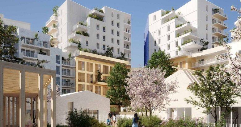 Achat / Vente programme immobilier neuf Montpellier au coeur d'un éco-quartier (34000) - Réf. 4866