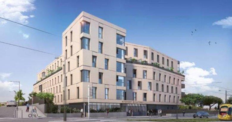 Achat / Vente programme immobilier neuf Montpellier au pied du tramway St-Martin (34000) - Réf. 4802