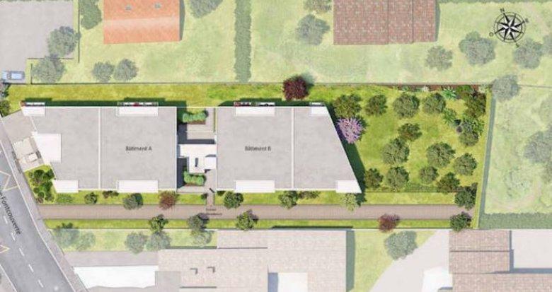 Achat / Vente programme immobilier neuf Montpellier aux abords du Parc Montcalm (34000) - Réf. 4310