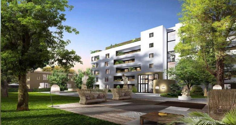 Achat / Vente programme immobilier neuf Montpellier cœur du quartier La Pompignane (34000) - Réf. 4590