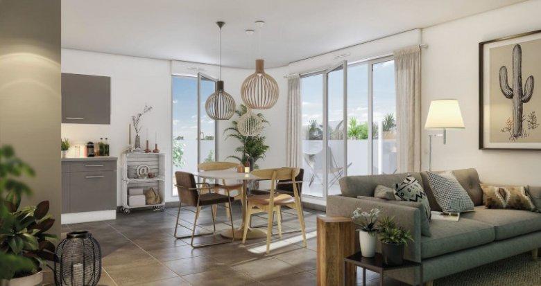 Achat / Vente programme immobilier neuf Montpellier Croix d'Argent (34000) - Réf. 5401