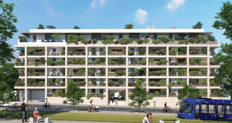 Achat / Vente programme immobilier neuf Montpellier - EAI- belles terrasses (34000) - Réf. 5076