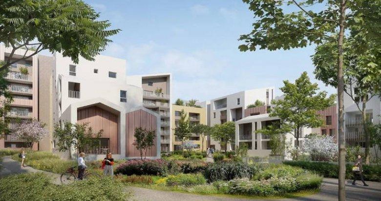Achat / Vente programme immobilier neuf Montpellier écoquartier à proximité du tramway (34000) - Réf. 4748