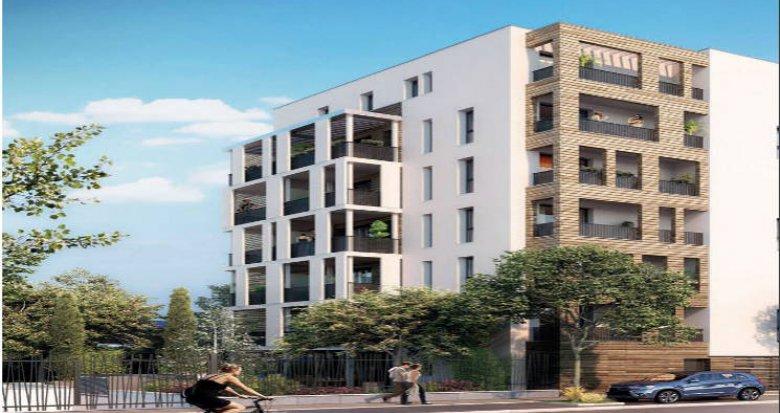 Achat / Vente programme immobilier neuf Montpellier proche centre historique (34000) - Réf. 4444