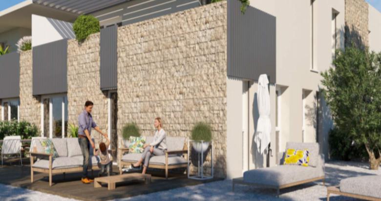 Achat / Vente programme immobilier neuf Montpellier proche Château de la piscine (34000) - Réf. 5166