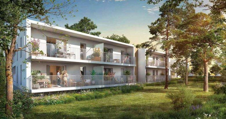 Achat / Vente programme immobilier neuf Montpellier proche CHU et Universités (34000) - Réf. 6295