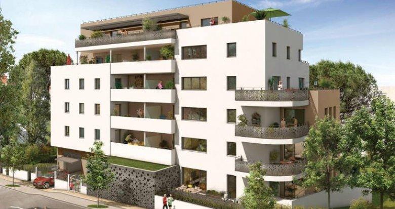 Achat / Vente programme immobilier neuf Montpellier proche Parc Montcalm (34000) - Réf. 2985