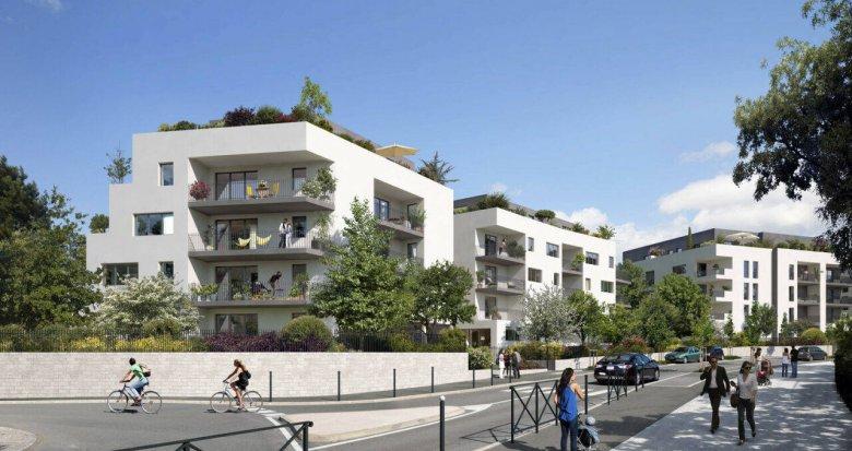 Achat / Vente programme immobilier neuf Montpellier proche Polyclinique Saint Roch (34000) - Réf. 6231