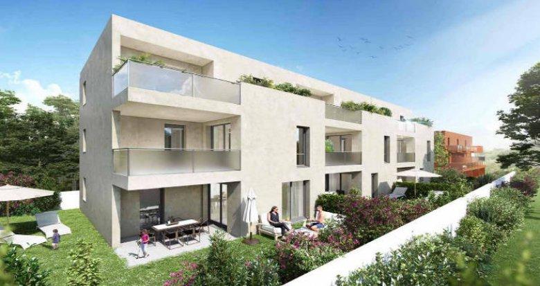 Achat / Vente programme immobilier neuf Montpellier quartier Hôpitaux-Faculté (34000) - Réf. 4346