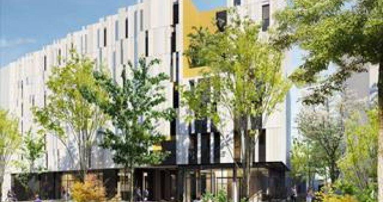 Achat / Vente programme immobilier neuf Montpellier résidence étudiante proche écoles (34000) - Réf. 5384