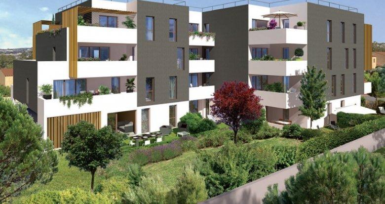 Achat / Vente programme immobilier neuf Montpellier secteur Port Marianne (34000) - Réf. 4588
