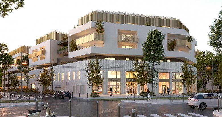 Achat / Vente programme immobilier neuf Montpellier sud (34000) - Réf. 6209