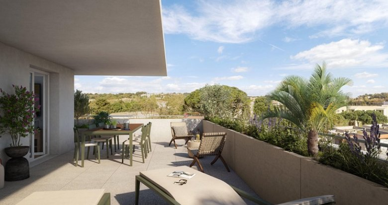 Achat / Vente programme immobilier neuf Montpellier village intime (34000) - Réf. 6027