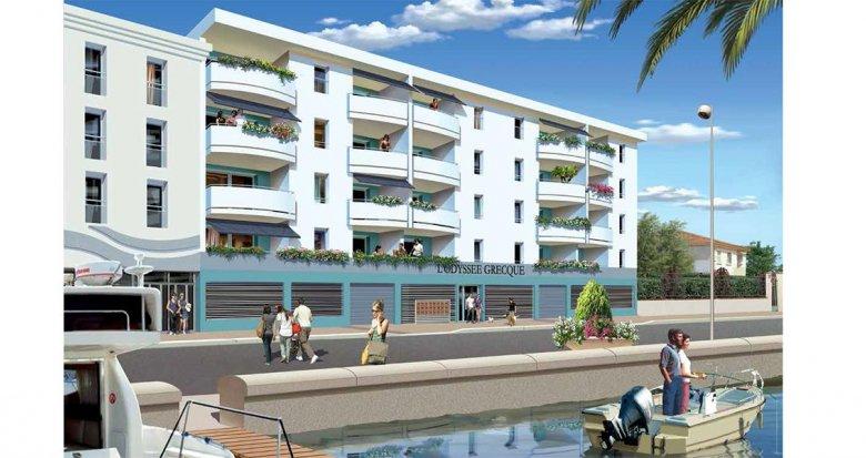 Achat / Vente programme immobilier neuf Palavas-les-Flots au bord de l'eau (34250) - Réf. 957