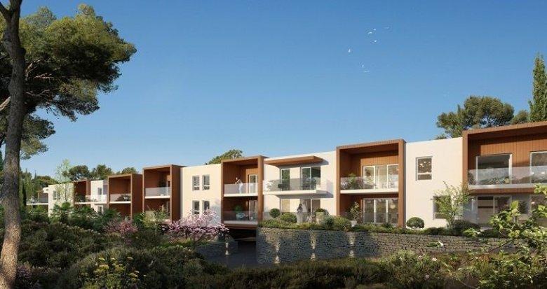 Achat / Vente programme immobilier neuf Prades-le-Lez à 100 mètres cœur de village (34730) - Réf. 1086