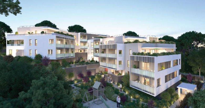 Achat / Vente programme immobilier neuf Saint-Aunès au cœur de la ZAC des Châtaigniers (34130) - Réf. 5141